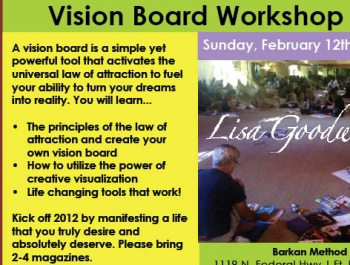 Vision board workshop 2012